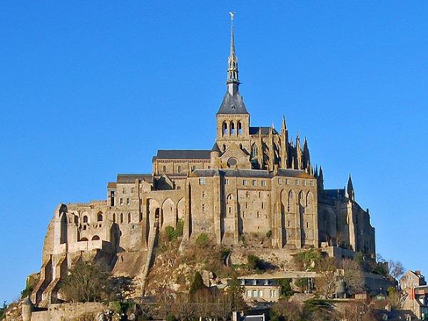Bretónsko-Normandia, Mont Saint Michel,