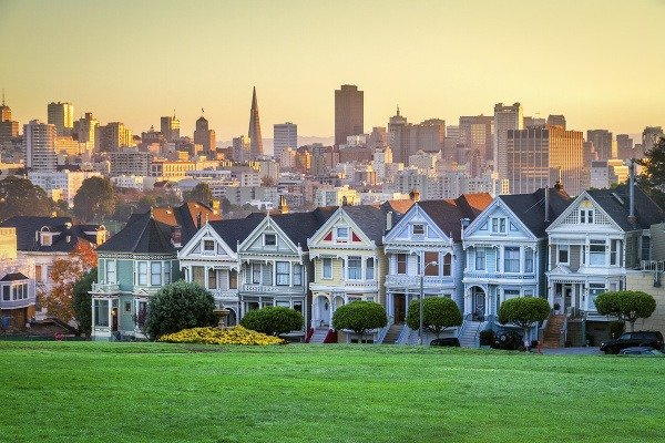 Alamo Square, San Francisco,