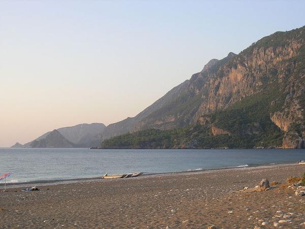 Pláž Cirali, Turecko