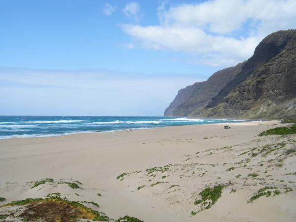 Pláž Polihale, Kauai, Havaj