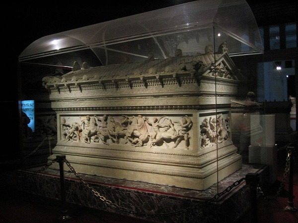 Archeologické múzeum, Istanbul, Turecko