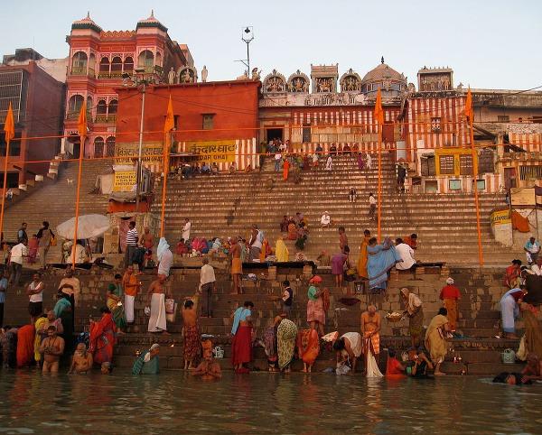 Kedar Ghat, Varanasi, India