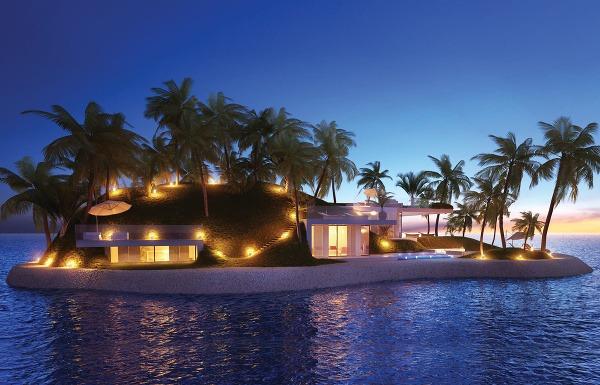 Súkromné ostrovy Armillarah, Dubaj,