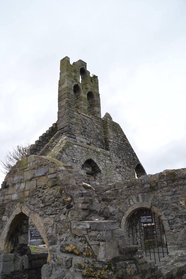 Howth Abbey, Dublin, Írsko