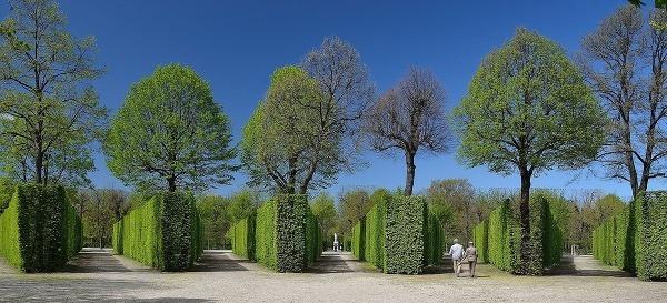 Záhrady v Schönbrunne, Viedeň,