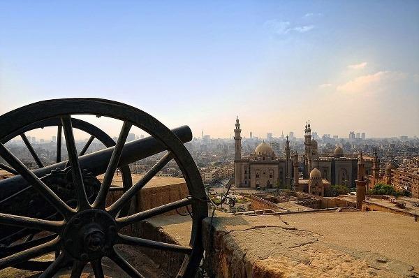 Pohľad na mešitu Al-Rifa'i