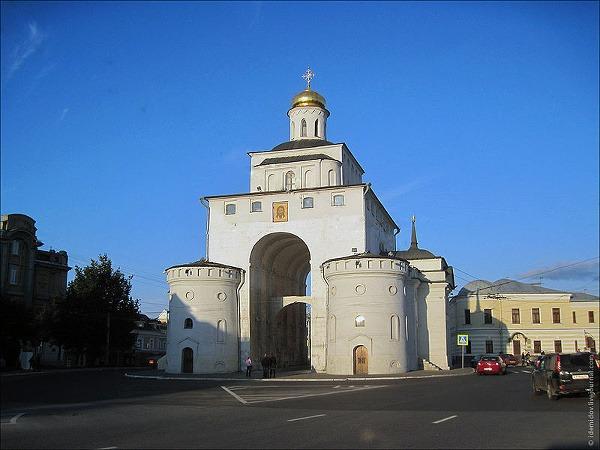 Zlatá brána, Vladimir
