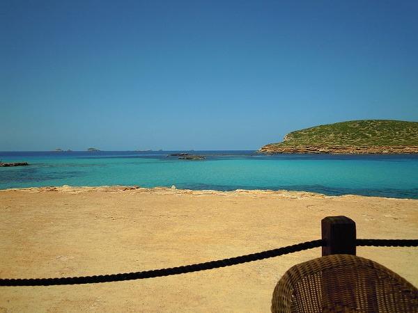 Pláž Cala Comte, Ibiza