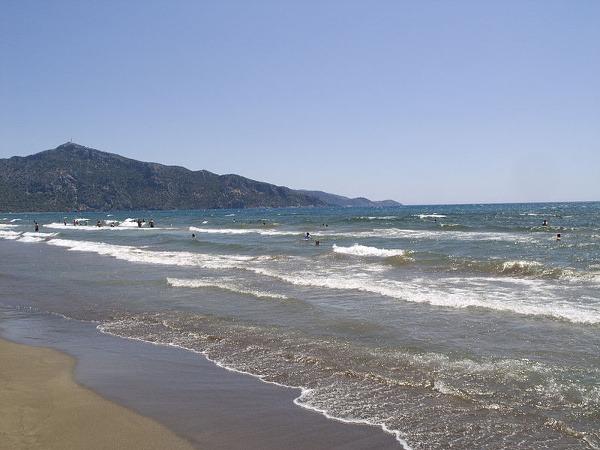 Pláž Iztuzu, Dalyan, Turecko