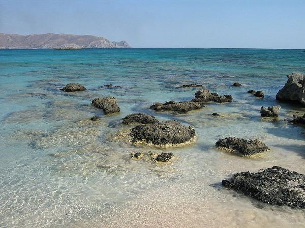 Pláž Elafonissi, Elafonissi, Grécko