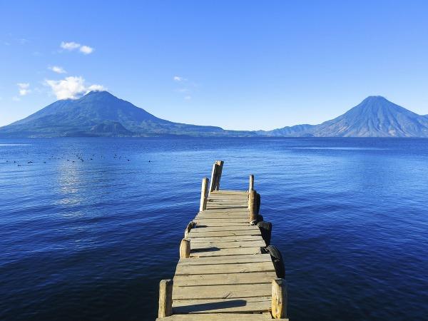 Jazero Atitlan, Guatemala