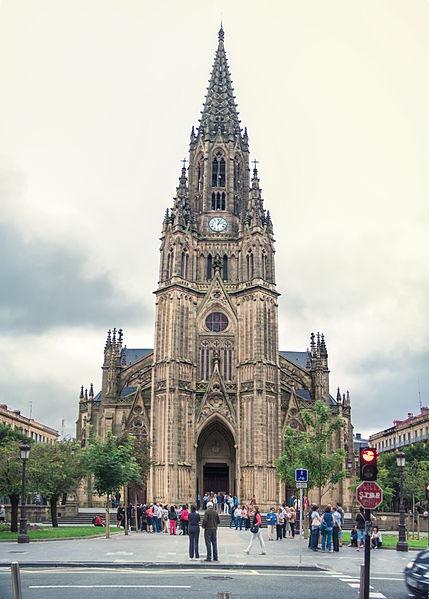 Katedrála, San Sebastián