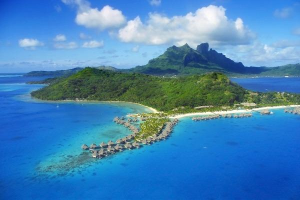 Bora Bora vznikla pred