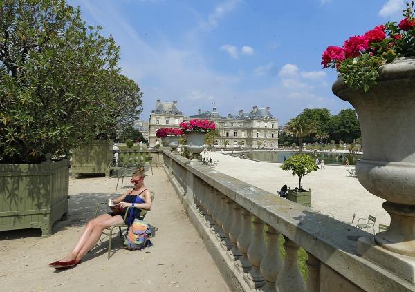 Parížania radi oddychujú v