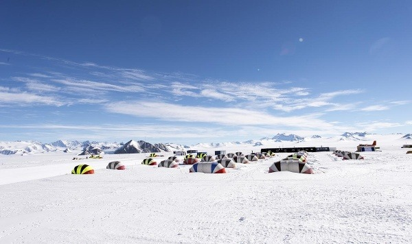 Základňa Union Glacier Camp
