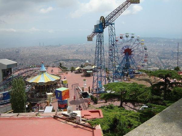 Zábavný park Tibidabo, Barcelona,