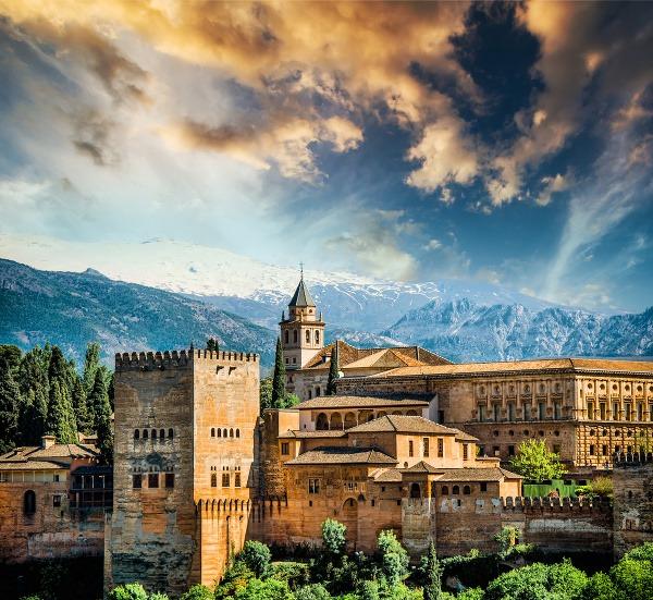 Andalúzska Alhambra s pečaťou