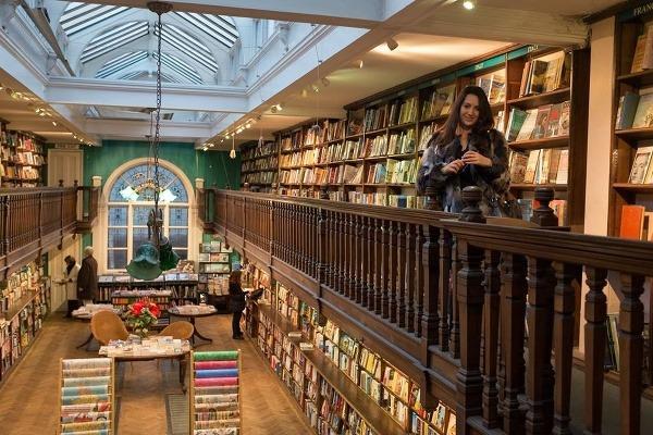 Daunt Books v Londýne