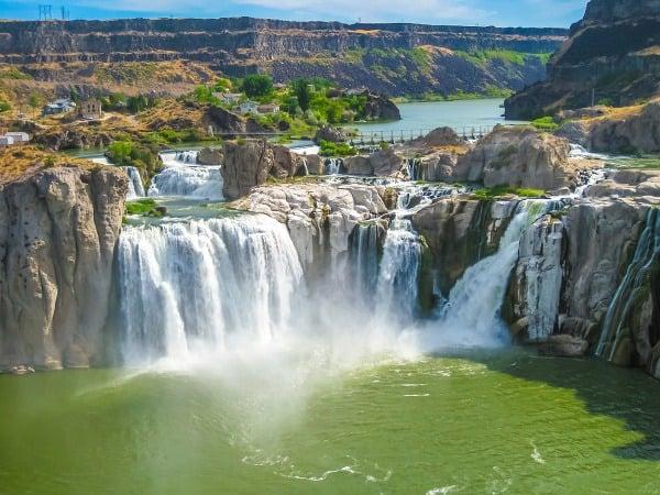 Vitajte pri Niagarských vodopádoch
