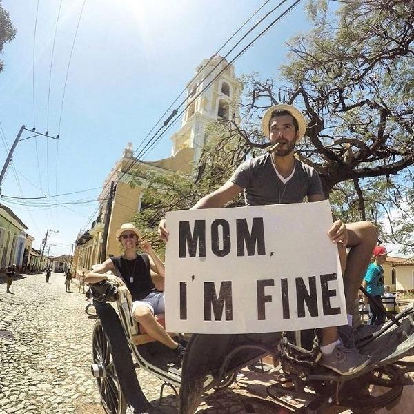Mami, som v poriadku