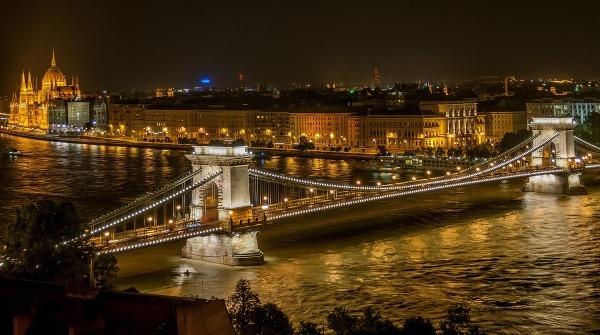 Most v Budapešti