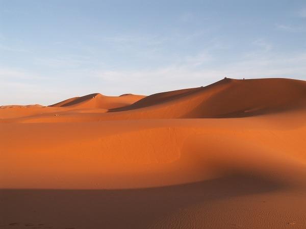 Púšť pri marockom meste