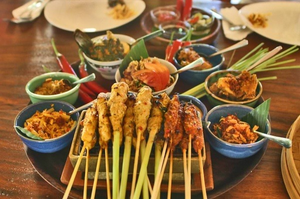 Pre jedlo na Bali