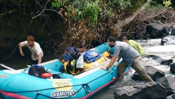 Expedícia k rieke hrochov