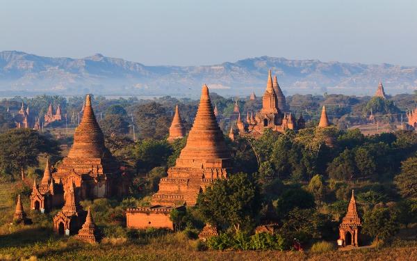 Mnohé z chrámov v