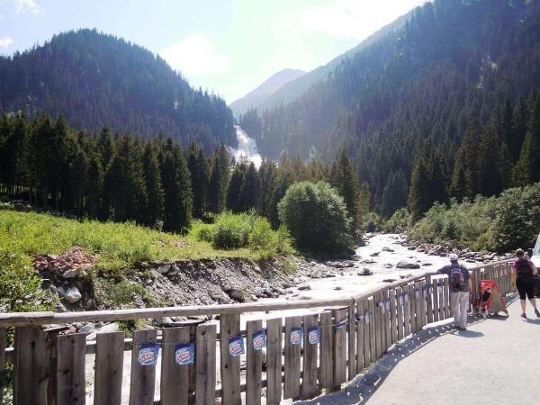 Fotoreportáž: Krimmelské vodopády a