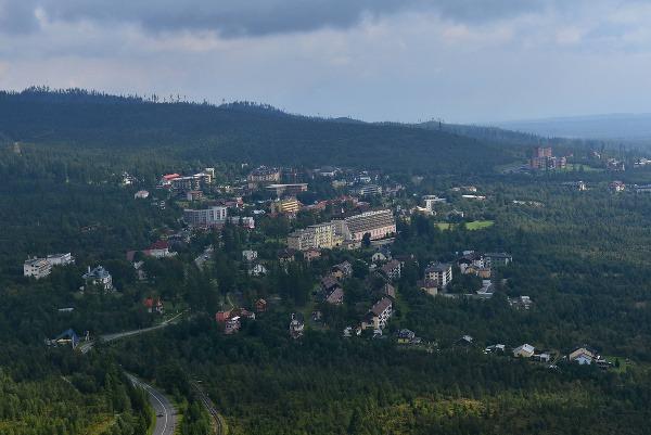 Na snímke letecký pohľad
