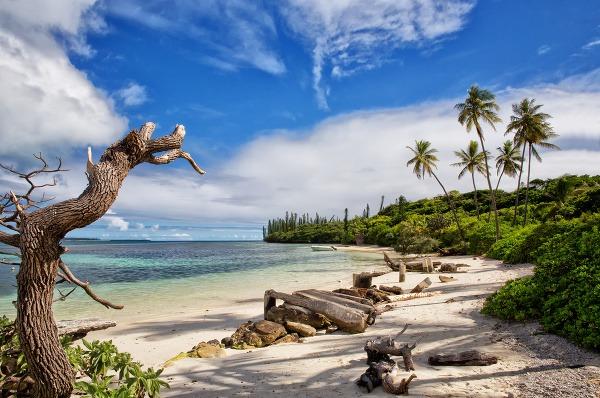 Na plážach Novej Kaledónie