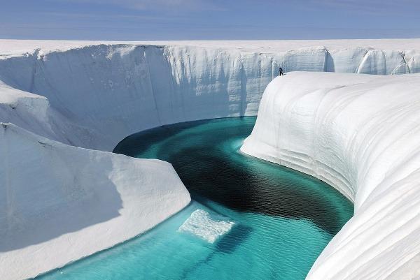 Ľadovce v Grónsku sa