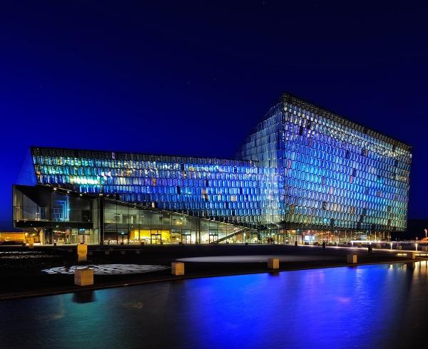 Islandský Reykjavík: Malé mesto