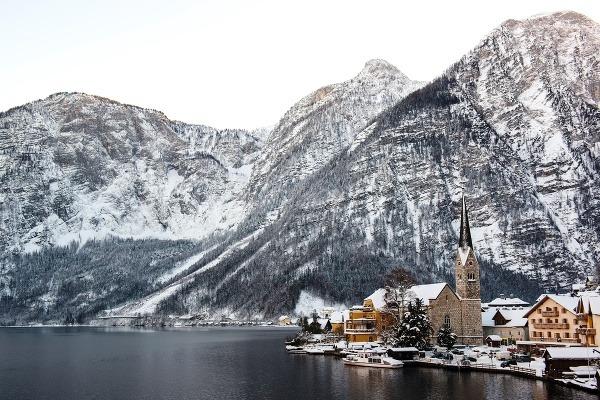 Najkrajšie zimné miesta Európy: