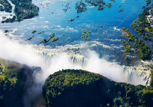 Prekrásne Viktóriine vodopády nájdeme