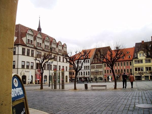 Naumburg a jeho okolie: