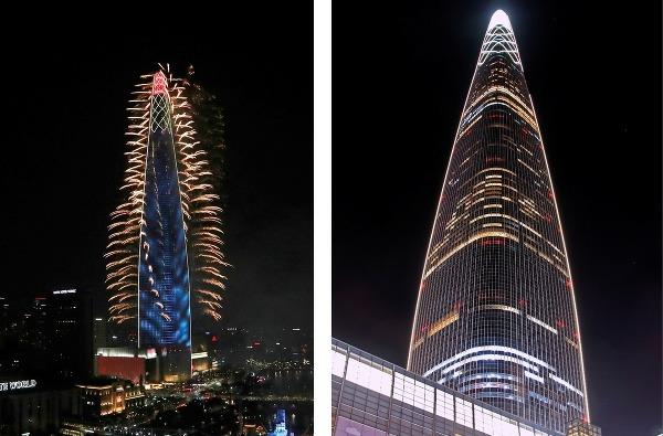 Mrakodrap Lotte World Tower