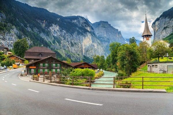 Lauterbrunnen, Švajčiarsko
