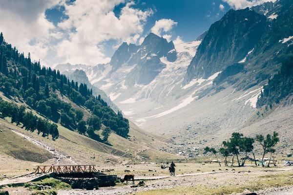 Kašmírové údolie, India