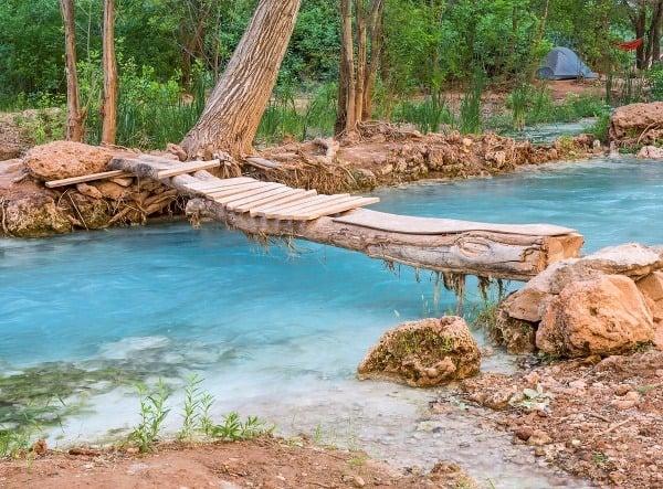 Vodopády Havasupai, USA