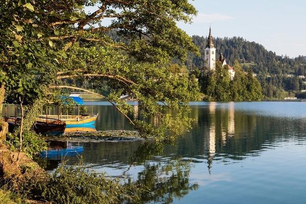 Jazero Bled, Slovinsko