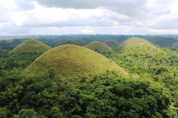 Filipínsky ostrov Bohol