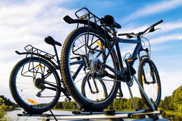 Pri prevoze bicykla treba