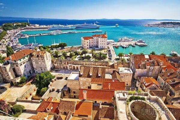 Chorvátsky Split: Nádherné centrum