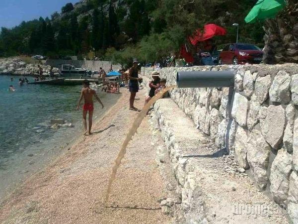 Najhoršia pláž Chorvátska: Tomuto