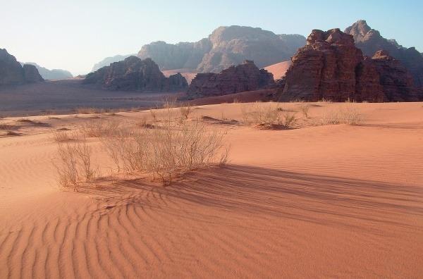 Wadi Rum, Jordánsko