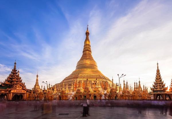 Pagoda Shwedagon, Mjanmarsko
