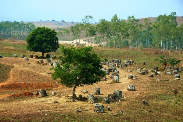 Planina džbánov, Laos