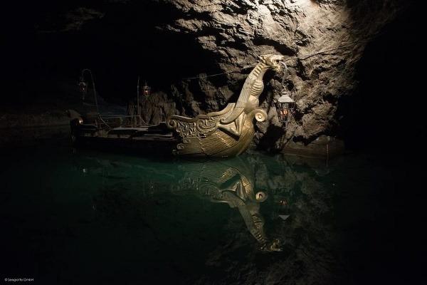 Jaskyňa Seegrotte,rakúsko